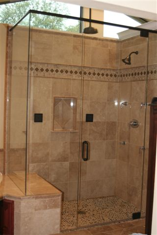 Michaelu0027s Glass Company Will Install A High Quality Custom Shower Enclosure  To Your Specific Design In Framed Or Frameless Materials.